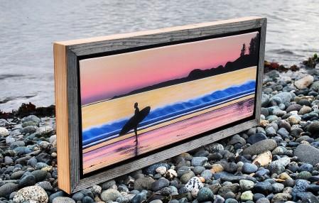Cut Driftwood Frame $70