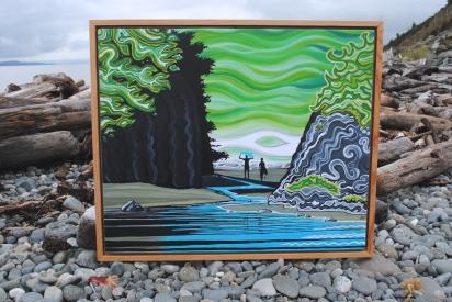 Douglas Fir Frame $90
