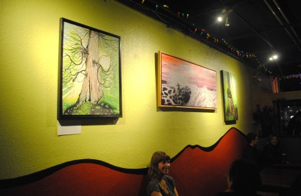Art Opening, The Grotto, Courtenay