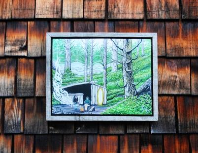 Driftwood Frame $60