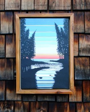 Red Cedar Frame $70