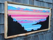 Live Edge Red Cedar Frame $200